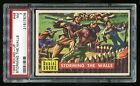 1956 Round-Up #48 Storming The Walls PSA 7 NM Cert #21517576