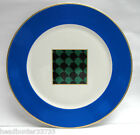 VILLEROY & BOCH CHINA - ABSTRACT Pattern with BLUE BORDER - 11