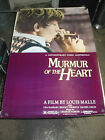 MURMUR OF THE HEART 1989 REISSUE US ONE SHEET MOVIE POSTER LOUIS MALLE