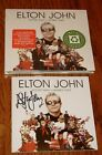 ELTON JOHN  Rocket Man Number Ones Autographed CD STILL FACTORY SEALED