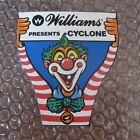 1988 WILLIAMS CYCLONE PINBALL DECAL STICKER