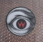 1988 WILLIAMS CYCLONE PINBALL PROMO PLASTIC SPEAKER CUTOUT RIGHT EYE