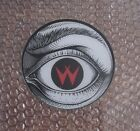 1988 WILLIAMS CYCLONE PINBALL PROMO PLASTIC SPEAKER CUTOUT LEFT EYE