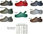 WOMENS NURSING MEDICAL GARDEN CLOGS SHOES ASSORTED COLORS 5 6 7 8 9 10 11