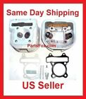 3 tall Cylinder Head Version B 150cc GY6 Engine Gasket piston rings parts