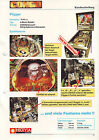 CONGO By WILLIAMS ORIGINAL PINBALL MACHINE FLYER BROCHURE GERMAN EDITION '95