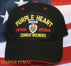 VIETNAM COMBAT WOUNDED VETERAN HAT US MARINES NAVY AIR FORCE ARMY COAST GUARD