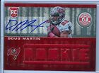 DOUG MARTIN 2012 TOTALLY CERTIFIED RC ROOKIE JERSEY AUTO AUTOGRAPH SP 199