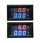 DC 0-100V 10A Dual LED Digital Volt meter Ammeter Voltage AMP F/12v 24v car auto