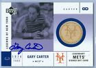 GARY CARTER 2001 UPPER DECK LEGENDS OF NEW YORK GAME USED BAT AUTO AUTOGRAPH SP