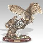 9 WOODLAND GUARDIAN OWLS FOREST SENTINELS COLLECTION Ashton THINK CHRISTMAS