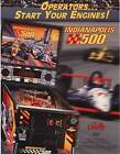 1995 BALLY MIDWAY INDIANAPOLIS 500 PINBALL FLYER MINT
