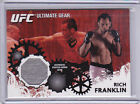 Rich Franklin Cards and Autographed Memorabilia Guide 7