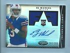 2013 Panini Certified Football Freshman Fabric Signatures Guide 51