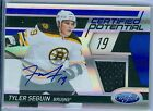TYLER SEGUIN 2011-12 CERTIFIED POTENTIAL GAME USED JERSEY AUTO AUTOGRAPH SP 50