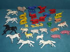 VINTAGE PLASTIC TOY HORSE'S FARM ANIMALS HONG KONG ONE SHEEP OCCUPIED JAPAN