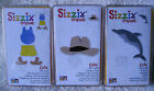 Sizzix 3 Original Die Sets Cowboy Hat Summer Cothes Dolphin Used
