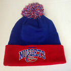 NBA Denver Nuggets Mitchell and Ness Cuffed Knit Hat Winter Beanie Cap M