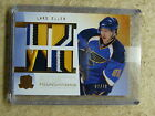 09-10 The Cup Foundations Quad Patch RC Rookie LARS ELLER Serial # 02 10