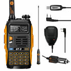 Baofeng GT-3 MKII V/UHF 136-174/4​​00-520 MHz Two-way Radio + Speaker + Cable&CD