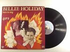 billie holiday lp born to sing 40's  lop 14122    vg+/m-  italian import