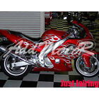 Fairing For 97-07 YZF600R YZF 600R Thundercat 1997-2007 Silver Flames Red LA6001
