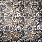 Stones, River Banks, Rocks Naturescape, Cotton Fabric, by AE Nathan, Per ½ Yd