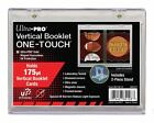 Ultra Pro VERTICAL BOOKLET One Touch Card Holder Magnetic UV Protected