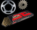Aprilia Moto 65 95-99 GOLD Heavy Duty HDR Chain & Sprocket Set