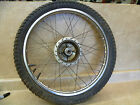 Suzuki TS TS-185 Used Original Front Wheel Rim 1974 #SW51