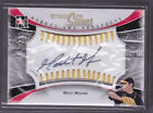 2011 ITG Heroes and Prospects Between the Seams Autographs Gold Matt Moore Auto