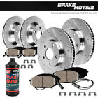 2006 BMW 325i E90 Front + Rear Drilled And Slotted Brake Rotors