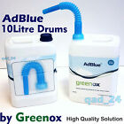 AdBlue Greenox Solution for Diesel Cars Audi Merc add 10L Litres Pouring Spout