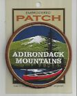 FABULOUS SOUVENIR PATCH - ADIRONDACK MOUNTAINS, NEW YORK - CANOE