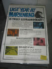 LAST YEAR AT MARIENBAD ORIG US ONE SHEET MOVIE POSTER ALAIN RESNAIS