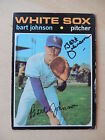 Daryl Knowles Autographed 1971 Topps Baseball Card