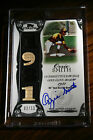 2006 Topps Sterling Ozzie Smith 1981 Gold Glove QUAD Relic Jersey Bat Auto 10