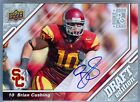 BRIAN CUSHING 2009 09 UPPER DECK NFL DRAFT EDITION RC ROOKIE AUTO AUTOGRAPH SP