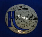 Antique German Porcelain Lidded Beer Stein Top Cover Wedding Anniversary #A9