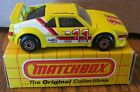 Matchbox BMW M1 Race Car Toy 157 MB52 1981 Made in Macau Goodyear 11 Bosch