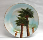TABLETOPS UNLIMITED - BAJA Pattern (Palm Trees) - DINNER PLATE