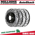 Front  Rear Drilled Slotted Disc Brake Rotors Set of 4 for BMW 328i 325i 325Ci