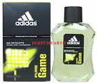 Pure Game By Adidas 3.3/3.4oz./100ml Edt Spray For Men New In Box