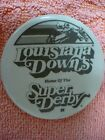 OX LOUISIANA DOWNS HOME OF THE SUPER DERBY PIN BADGE 29280 HORSE RACING