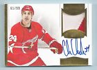 CHRIS CHELIOS 2013 14 PANINI DOMINION 2 COLOR PATCH AUTOGRAPH AUTO 99