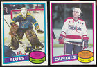 80-81 OPC Mike Gartner Rookie O-PEE-CHEE RC 1980-81 Capitals