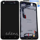 LCD Touch Digitizer Housing Frame Assembly for HTC Droid DNA+Tool Part US Black