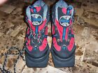 boys WHITEWOODS SNOW BOARD BOOTS FOOTWEAR SIZE 34 2 2.5 USA black RED super @@