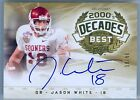 JASON WHITE 2011 UPPER DECK LEGENDS DECADES BEST AUTO AUTOGRAPH SP JERSEY #18 80