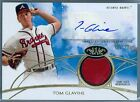 TOM GLAVINE 2014 TOPPS TIER ONE GAME USED JERSEY PATCH AUTO AUTOGRAPH SP 99